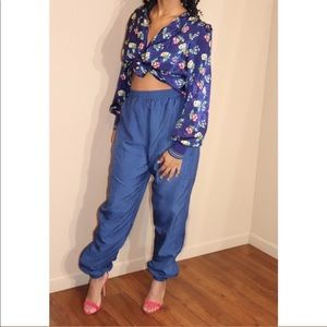 Reebok Sweatpants & Floral Top